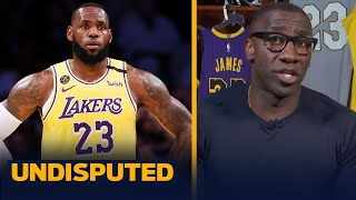 Shannon agrees with Kendrick Perkins about the media judging LeBron too harshly | NBA | UNDISPUTED