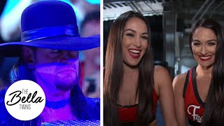 THE UNDERTAKER RETURNS! Brie and Nikki react to The Deadman
