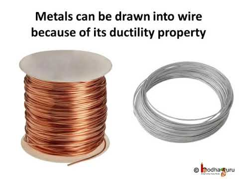 धातु और अधातु – भाग 1 – Physical properties of metal and non-metal – in Hindi