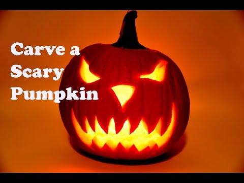 Pumpkin Carving  How to Carve a Pumpkin  Scary pumpkin Carving  Pumpkin faces