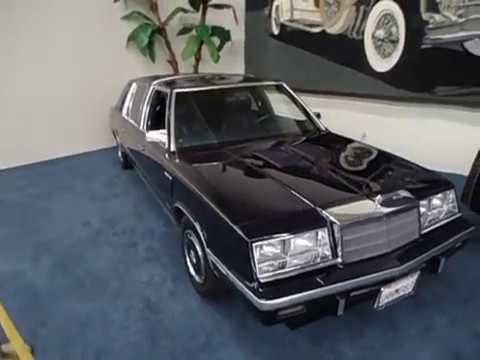 Chrysler Executive LeBaron Stretch Limo 1986 - Linq Auto Collections, Las Vegas