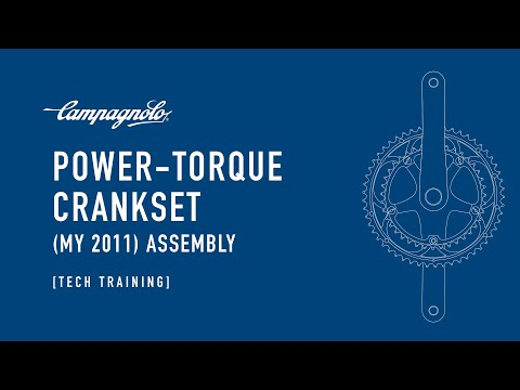 CAMPAGNOLO - Assembling 2011 Power Torque™ Crankset - Montaggio guarnitura Power Torque™ 2011