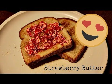 Old Fashioned Strawberry Butter Recipe