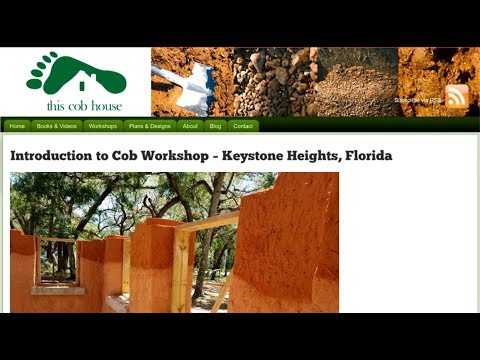 Join Our Upcoming Cob Workshop - May 2018 - Florida