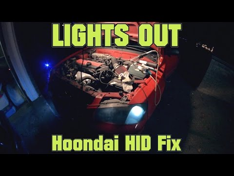 Lights Out ! - Hoondai HID Fix (Headlight fuse fix)