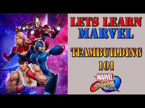 Lets learn Marvel! - How to build up your team (with examples)