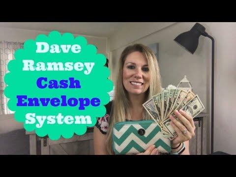 Stuffing My June 2018 Cash Envelopes  | Dave Ramsey Cash Envelope System