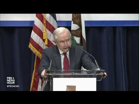 Suing California, Sessions vows to 'use every power' to stop state laws on immigration enforcement