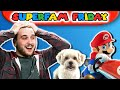 Puppies Can't Play Mario Kart! Or Can They?? | SuperFam Friday