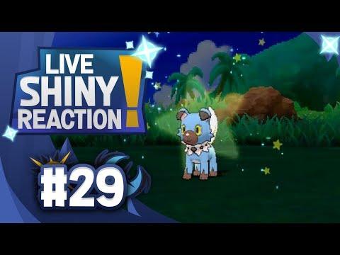 SOS SHINY ROCKRUFF!! Pokemon Ultra Sun and Moon! Shiny Living Dex #744