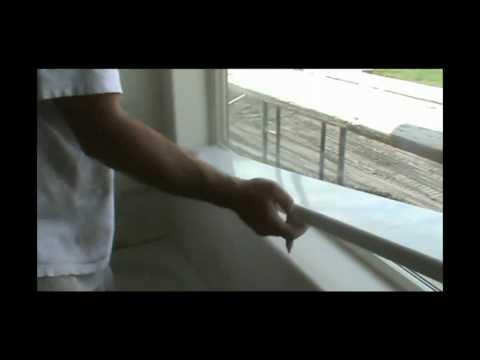Duraflex (Window Sill-rounded corner installation)