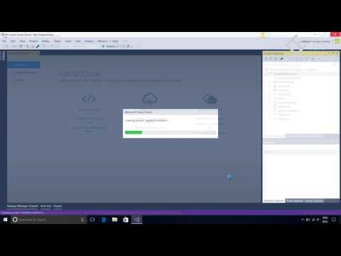 Asp net Core MVC 4 - Creating web project and project structure part 1