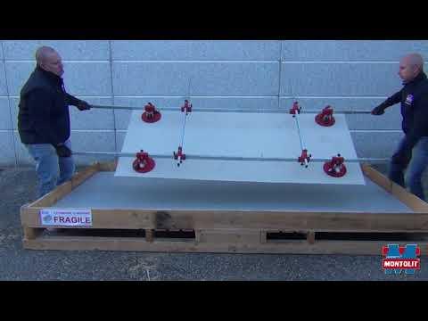 300 70 handling system of large tiles Superstick