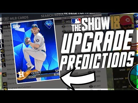 NEW DIAMOND IN THIS WEEKS ROSTER UPDATE PREDICTIONS! MLB THE SHOW 18 DIAMOND DYNASTY