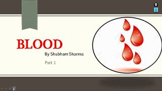 Blood, Part 1 - True Blood:By Shubham Sharma