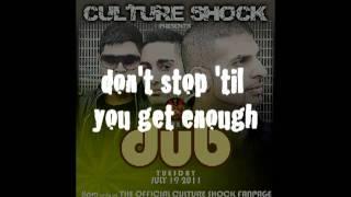 CULTURE SHOCK DUB _ SUPERBASS