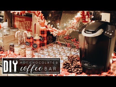 DIY Hot Chocolate & Coffee Bar   Christmas 2017