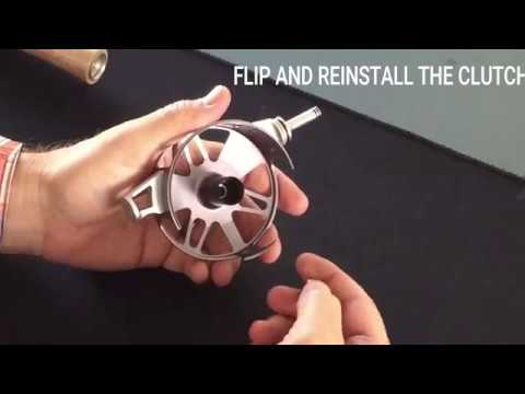 Waterworks-Lamson: How to Change and Retrieve the Center Axis Reel | AvidMax