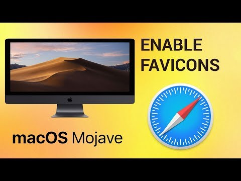 How to enable favicons in Safari on macOS Mojave