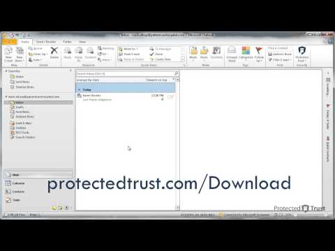 How to View an Encrypted Email Using Microsoft Outlook