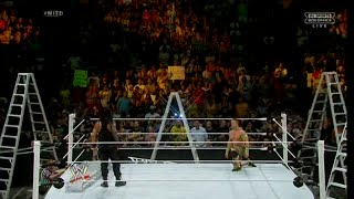 Roman Reigns Vs John Cena - Ladder Match World Heavyweight Championship Match