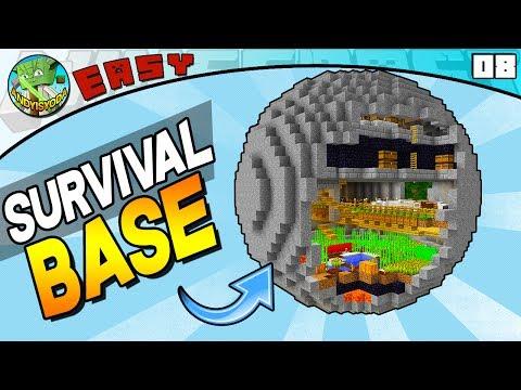 MINECRAFT SURVIVAL SPHERE (EASY build 08)