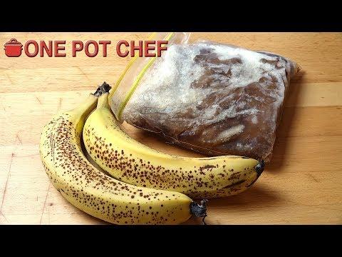 Quick Tips: Saving Over Ripe Bananas | One Pot Chef