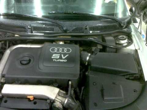 Audi TT 225HP air filter vs blow off sound