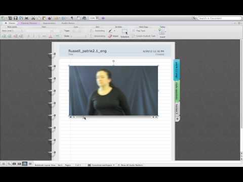 Tutorial - MS Word Notebook