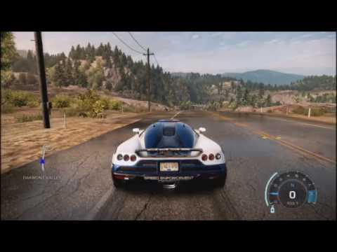 NFS Hot Pursuit: Controlling the car directions