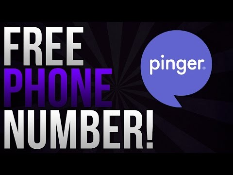 How To Make A Phone Number For FREE 2016! (Texts Only)