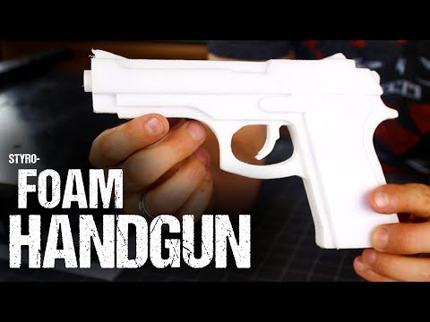 How To Make A Styrofoam Handgun