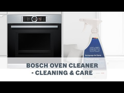 Bosch Oven Cleaner - Cleaning & Care