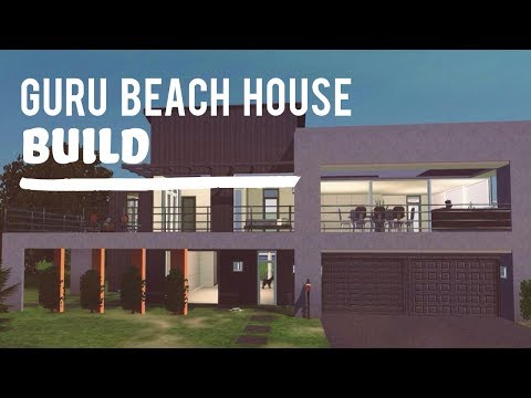 The Sims 3 House Build—The Guru Beach House
