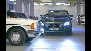 Mercedes Self Parking Car Demo Valet Parking Multi Story Car Park Mercedes Autonomous Car CARJAM