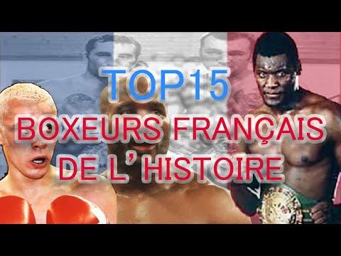 TOP 15 BEST FRENCH BOXERS ALL TIME - 15 MEILLEURS BOXEURS FRANÇAIS DE TOUT LES TEMPS -  MKL PROD