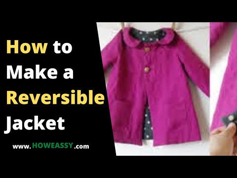 how to make a reversible jacket
