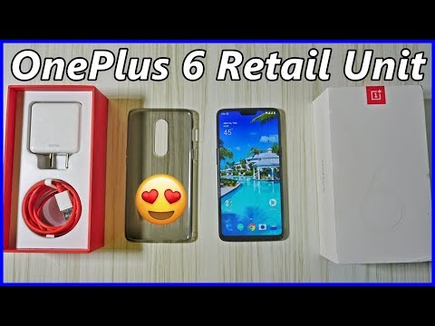 OnePlus 6 Retail Unit Unboxing : OMG ! 🔥🔥