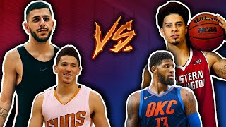 IS THIS REALLY HAPPENING?! *Playing with DEVIN BOOKER & ACE FAMILY*