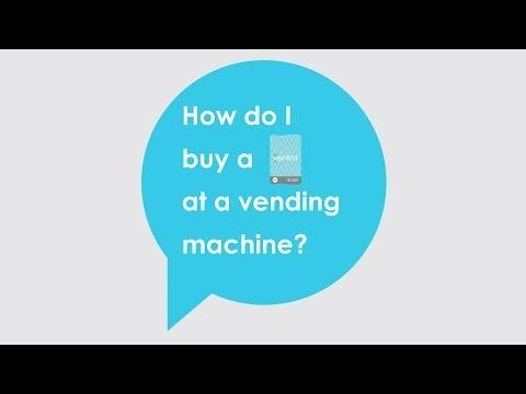 How do I buy a Ventra Ticket at a vending machine?