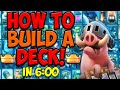 Download  How To Build Your Own Clash Royale Deck! MP3,3GP,MP4