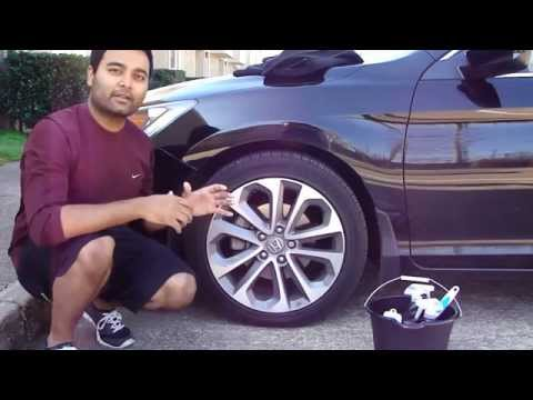 How to Clean and Shine your Tires and Rims for CHEAP!