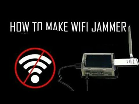How to Make WIFI Jammer in just ₹400