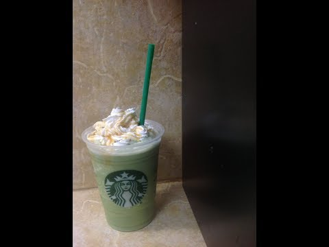 ❤️How To Make A Starbucks Green Tea Frappuccino: Best DIY :Burn Fat: Healthy!❤️
