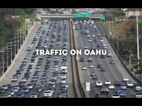 Moving to Hawaii: The Traffic(vlog sitting in traffic)