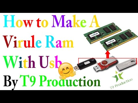 Making computer faster by upgrading virtual RAM 100% Work - T9 Production