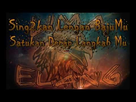 ELANG Lyrics -(Ost.Lima Elang)
