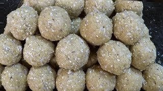Quick And Easy Nuvvula Laddu in Sweet Shop Style - Sesame Seeds And Jaggery Ladoo