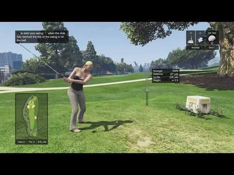 [Xbox One] GTA Online (1.41) - Golf (Hole in One)