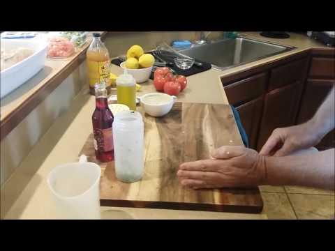 The Best Garlic Red Wine Vinaigrette Salad Dressing Recipe